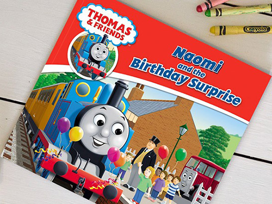Thomas The Tank Engine Personalised Children's Birthday