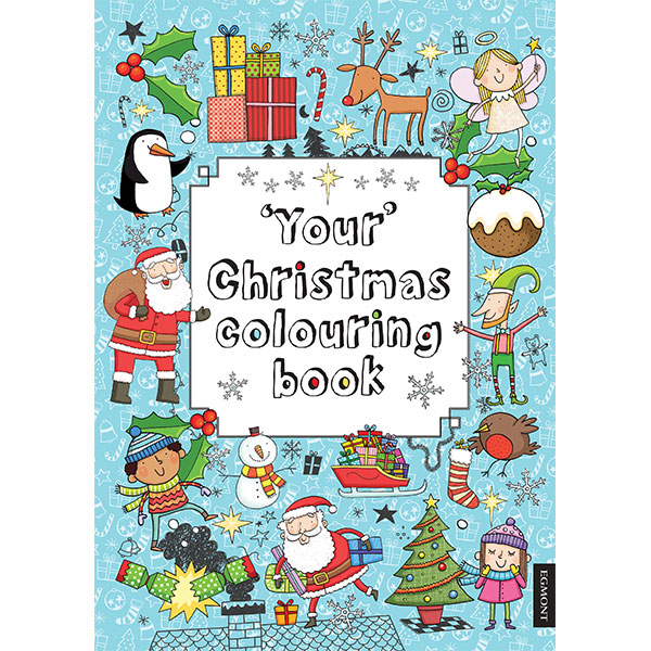 Your Christmas Colouring Book