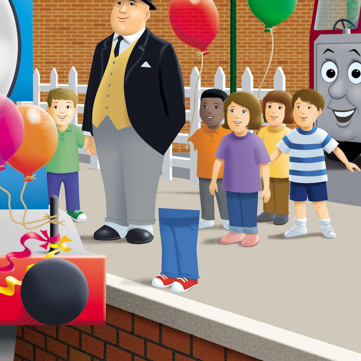 Thomas The Tank Engine Personalised Children's Birthday