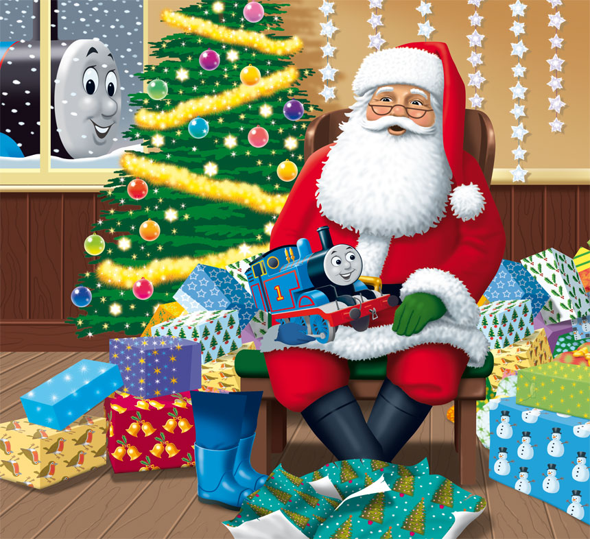 thanks to you you every boy and girl will have a very merry christmas